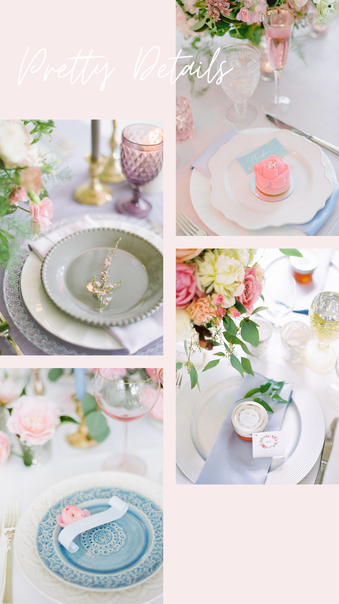 Wedding Place Setting Ideas | Infinity Event Design
